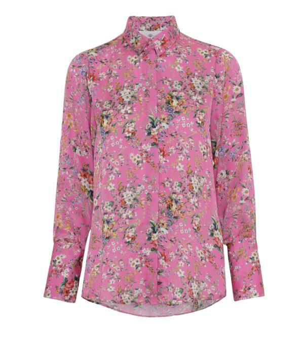 Zoe shirt pink bloom