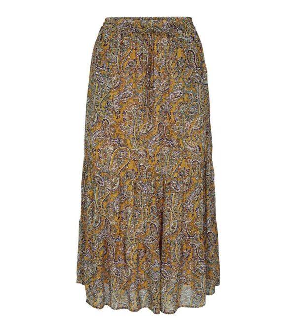 rive gipsy skirt - mustard