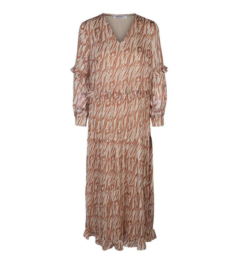 golden tiger dress
