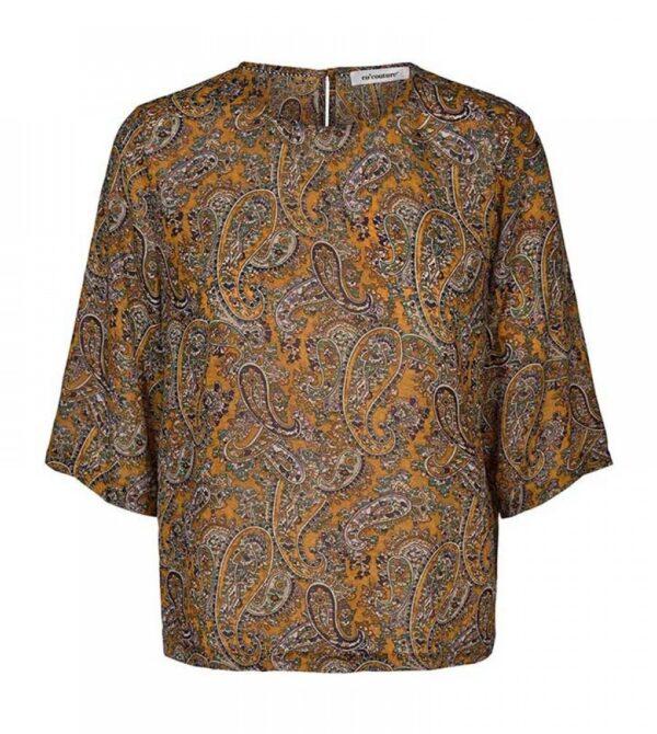 Rive blouse - mustard