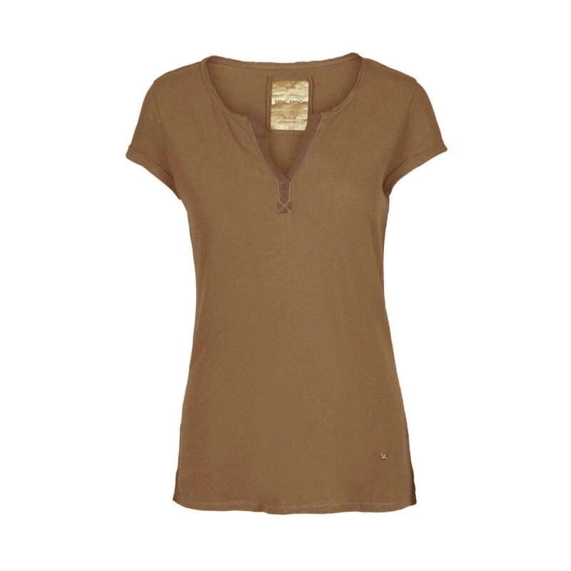 troy tee ss - camel