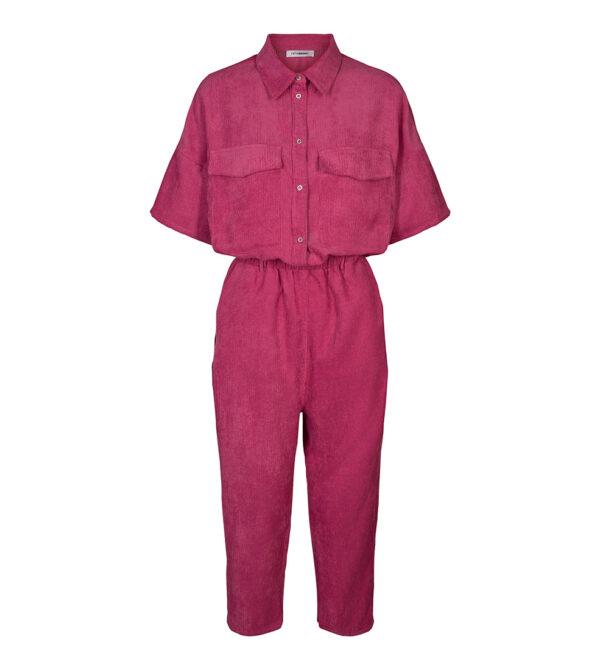 Parnella Corduroy Jumpsuit pink