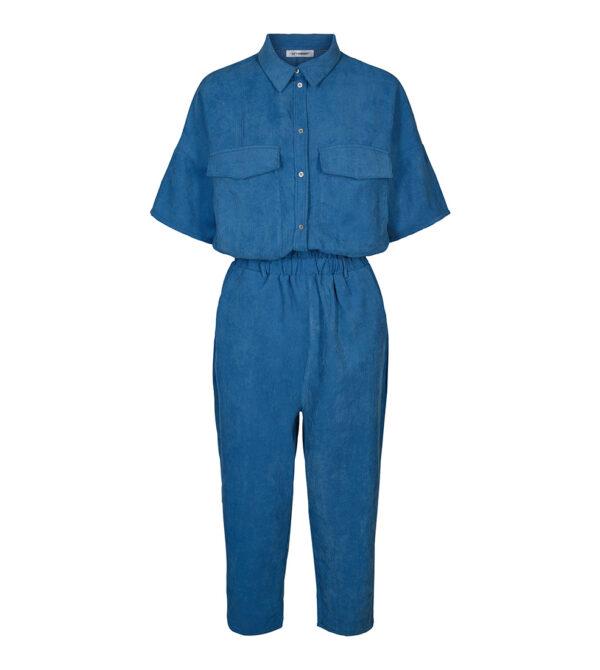 Parnella Corduroy Jumpsuit blue