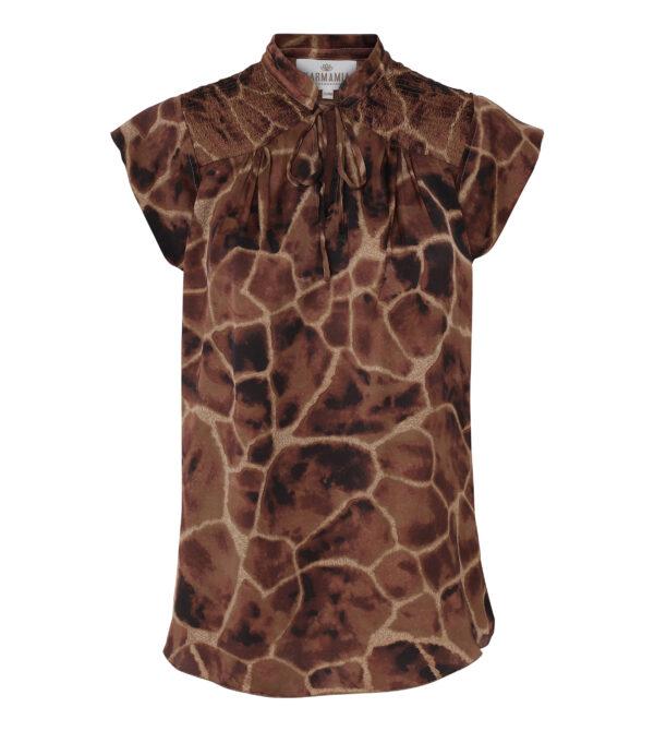 Nola blouse giraffe