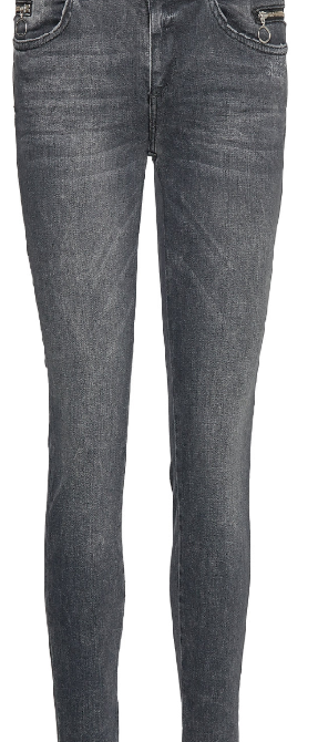 sumnar trock jeans - grey denim