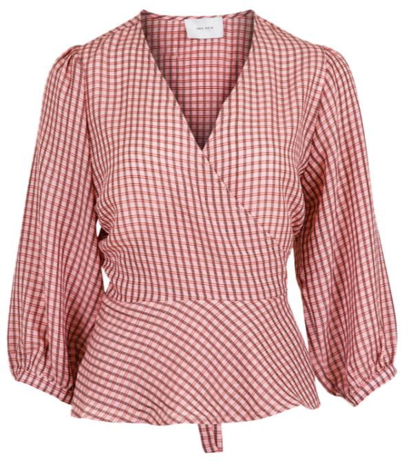 didi check blouse