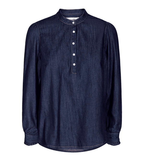 new denimita shirt - dark denim