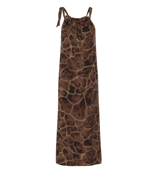 simone dress - giraffe