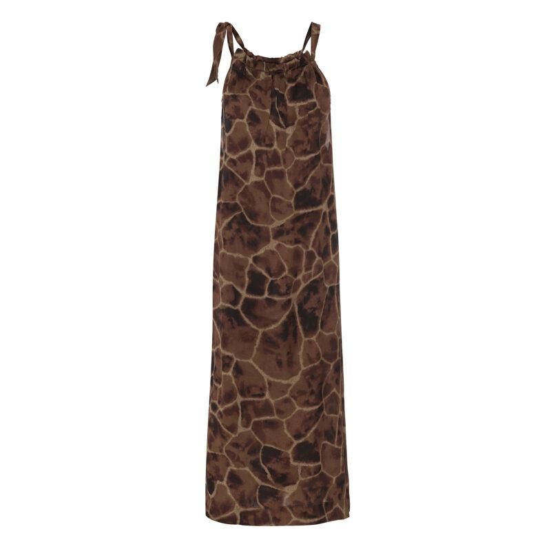 simone dress - giraffe