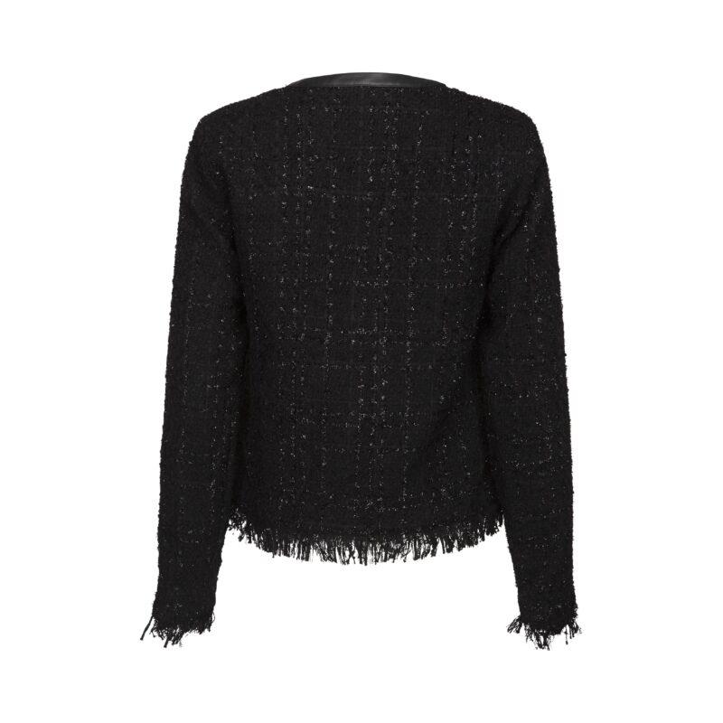 sofie schnoor jakke - sort - bagpå