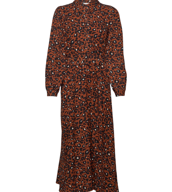 Just - Vilja maxi dress/urban leo