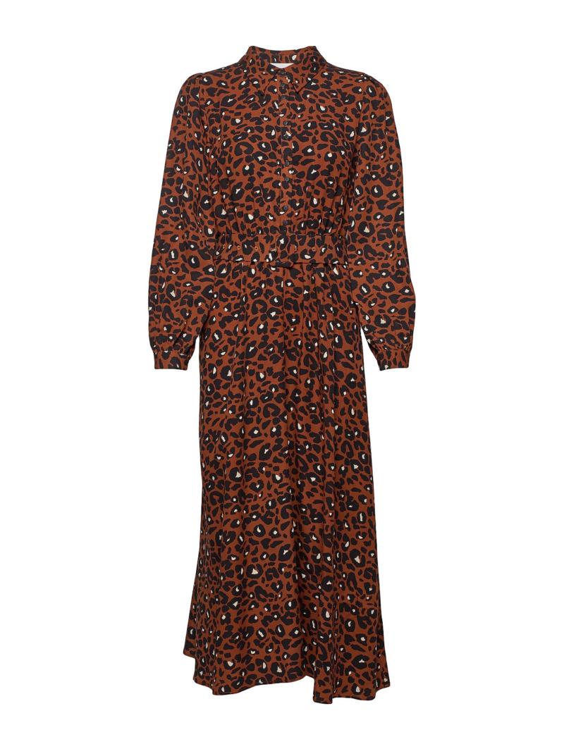 Just - Vilja maxi dress/urban leo