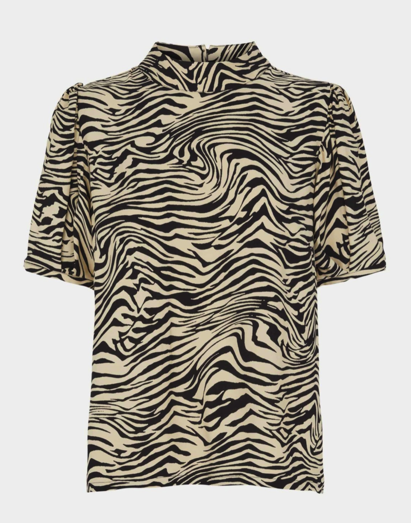 Zebra blouse - JUST