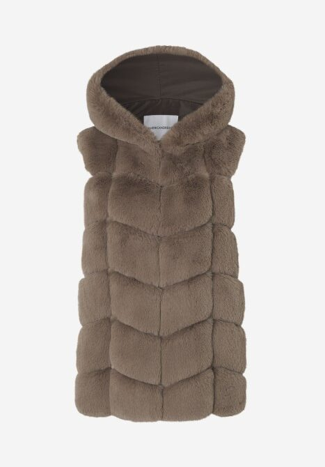 Ashley faux fur - brun
