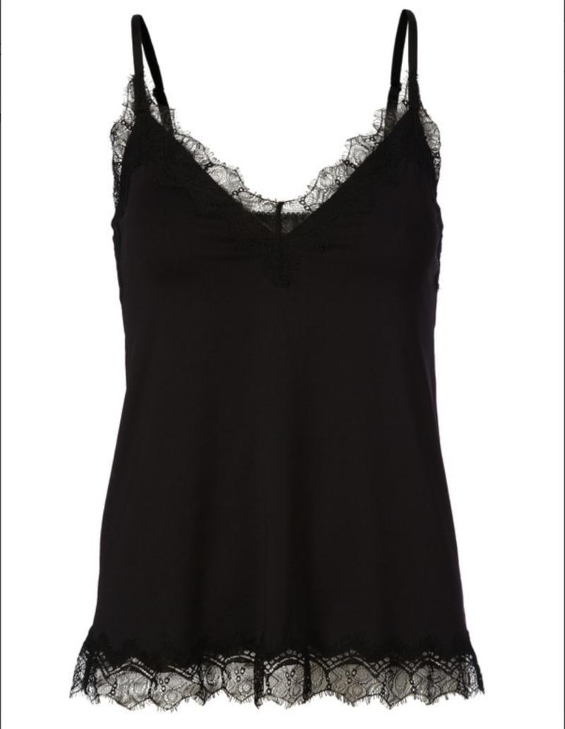 Rosemunde - top black