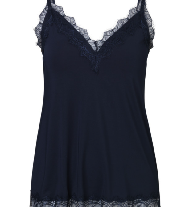 Rosemunde - top dark blue