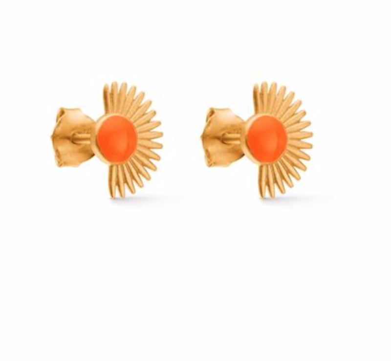 Enamel - Stud Orange